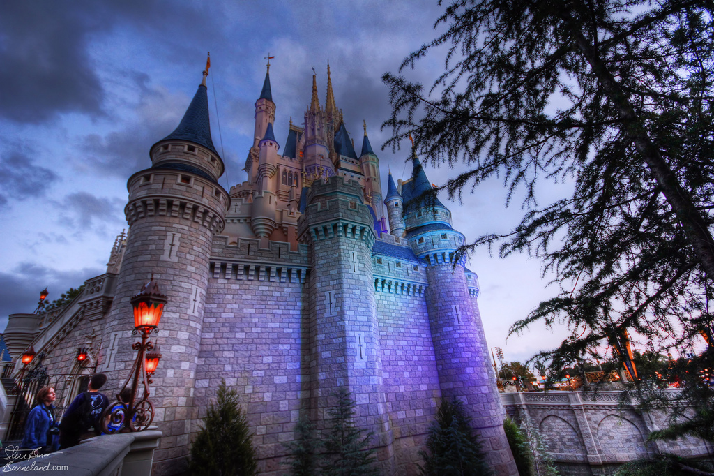 Cinderella Castle evening 2011