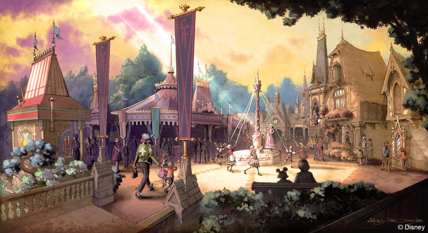 Disneyland's Fantasy Faire - Beyond the Berm