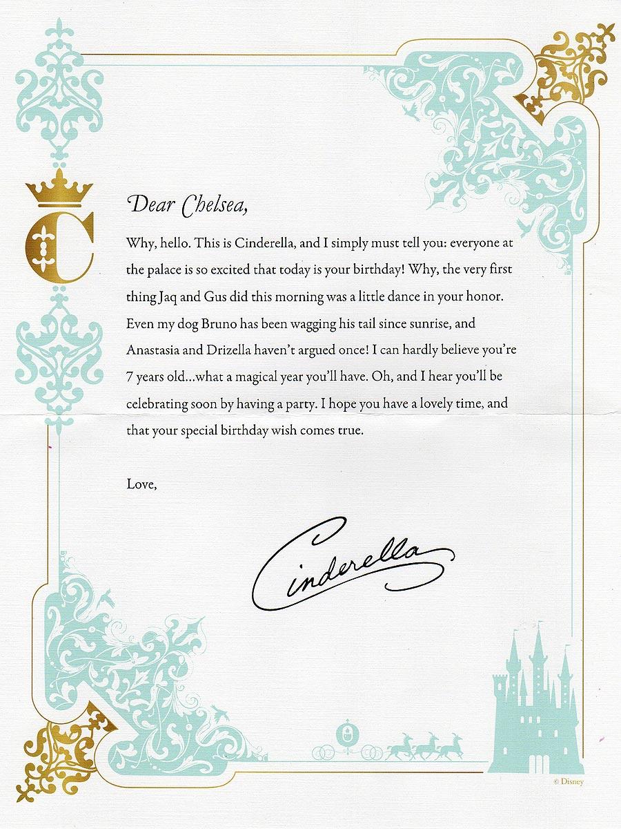 Letters from Cinderella Archives - Beyond the Berm