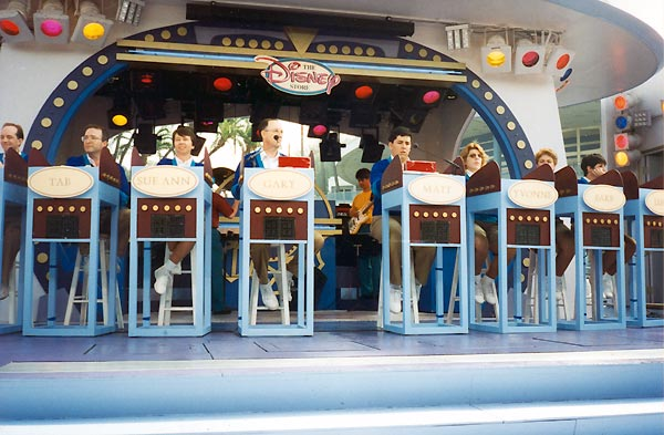 Tomorrowland Terrace at Disneyland