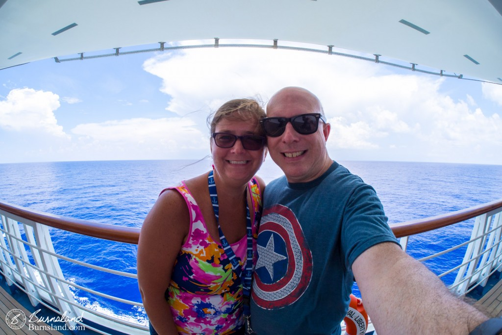 Steve and Laura on the Cruise